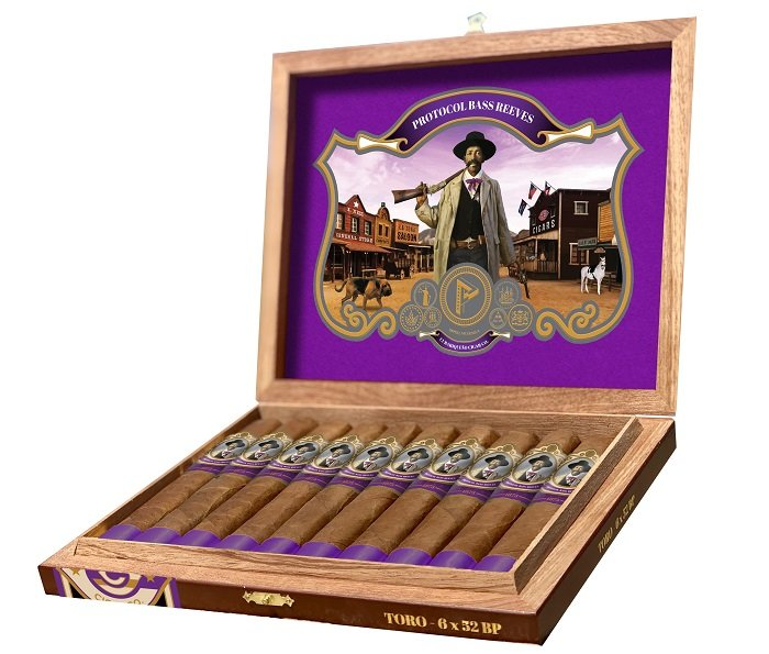 Cigar News: Protocol Bass Reeves Announced as Third Installment of the Lawmen Series