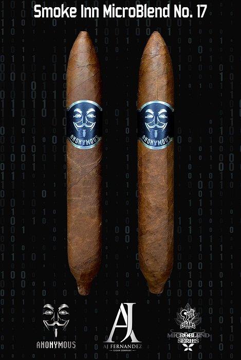 Cigar News: Anonymous by AJ Fernandez Announced as Smoke Inn's 17th MicroBlend