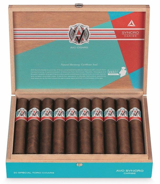 Cigar News: AVO Syncro Caribe Announced